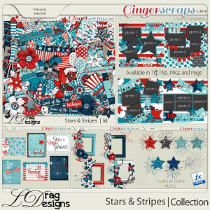 Stars & Stripes: The Collection by LDragDesigns