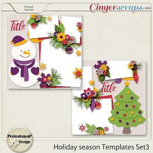 Holiday season Templates Set3