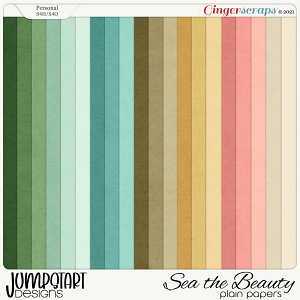 SEA the Beauty {Plain Paper}