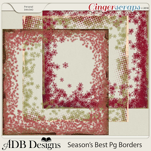 Season's Best Borders by ADB Designs
