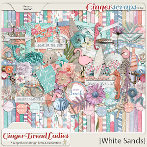 GingerBread Ladies Collab: White Sands