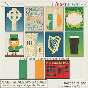 Best of Ireland (journaling cards)