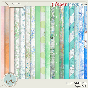 Keep Smiling Paper Pack by Ilonka's Designs