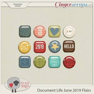 Document Life June 2019 Flairs by Luv Ewe Designs
