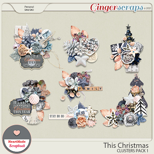 This Christmas - clusters pack 1 by HeartMade Scrapbook