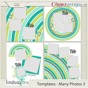 Templates - Many Photos 3 by Lindsay Jane