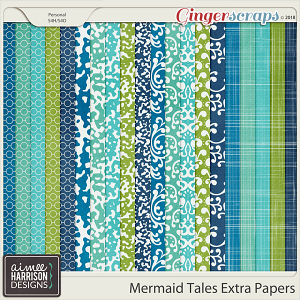 Mermaid Tales Extra Papers by Aimee Harrison
