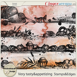 Very tasty & appetizing Stamps&Edges