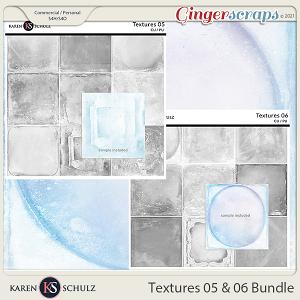 Textures 05 and 06 Bundle by Karen Schulz
