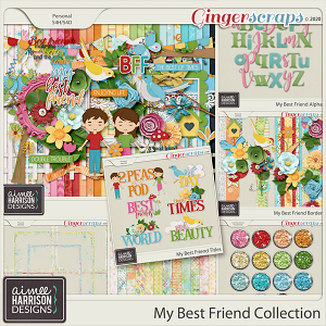 My Best Friend Collection by Aimee Harrison