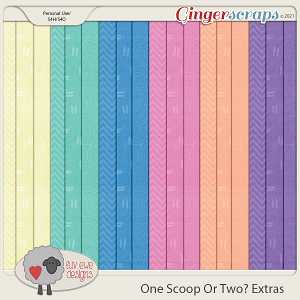 One Scoop Or Two Extras by Luv Ewe Designs