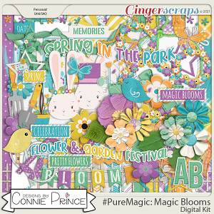 PureMagic: Magic Blooms - Kit by Connie Prince