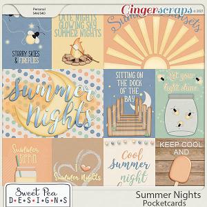 Summer Nights Pocketcards