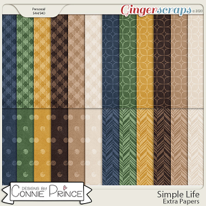 Simple Life - Extra Papers by Connie Prince