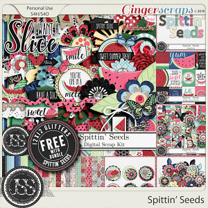 Spittin Seeds Digital Scrapbook Bundle
