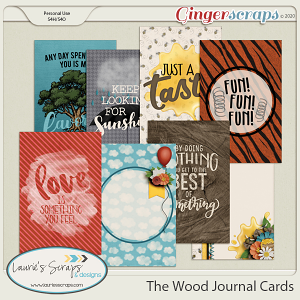 The Wood Journal Cards
