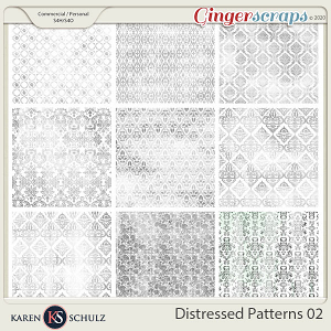 Distressed Patterns 02 by Karen Schulz
