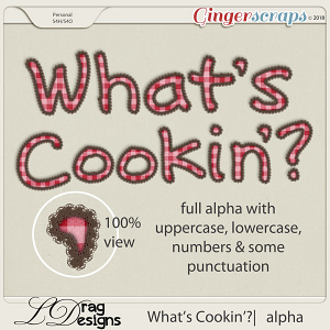 What's Cookin'?: Alpha by LDragDesigns
