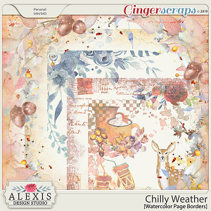 Chilly Weather - Page Borders