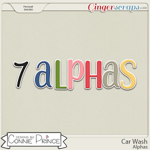 Car Wash  - Alpha Pack AddOn by Connie Prince