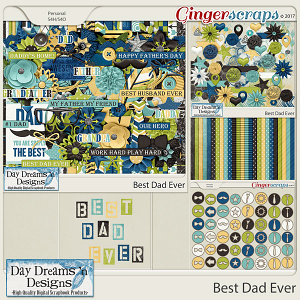 Best Dad Ever {Bundle Collection} by Day Dreams 'n Designs