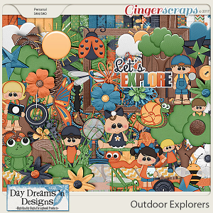 Outdoor Explorers {Kit} by Day Dreams 'n Designs