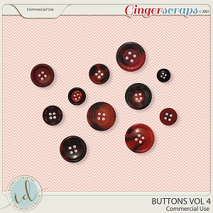 CU Buttons Vol 4 by Ilonka's Designs