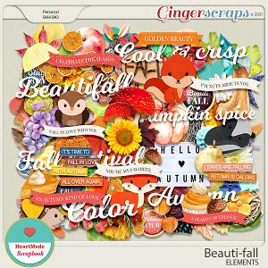 Beauti-fall elements