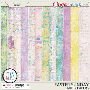 Easter Sunday - Artsy Papers - by Neia Scraps and JB Studio