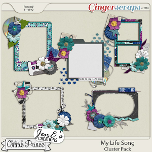 My Life Song - Cluster Pack