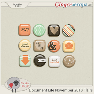 Document Life November 2018 Flairs by Luv Ewe Designs