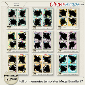 Full of memories Templates Mega Bundle #7