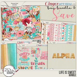 Life is Sweet - Bundle- by Neia Scraps