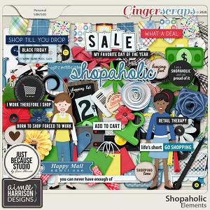 Shopaholic Elements Pack by Aimee Harrison and JB Studio