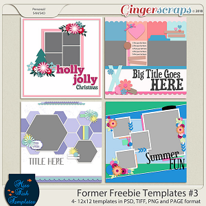 Former Freebies Templates #3 by Miss Fish Templates