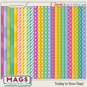 Today Is The Day EXTRA PAPERS by MagsGraphics