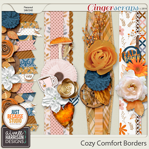 Cozy Comfort Borders by Aimee Harrison and JB Studio