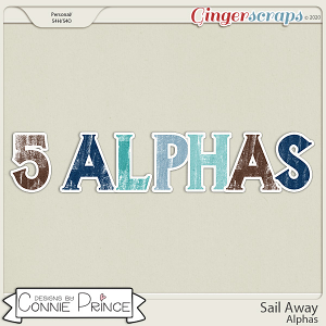Sail Away - Alpha Pack AddOn by Connie Prince