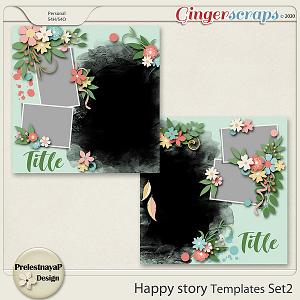 Happy story Templates Set2