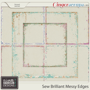 Sew Brilliant Messy Edges by Aimee Harrison