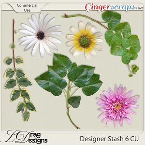 Designer Stash 6 CU Greenery by LDragDesigns