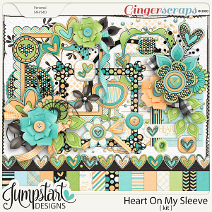 Heart On My Sleeve {Kit} by Jumpstart Designs
