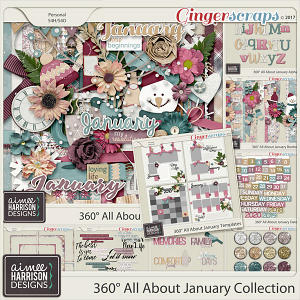360° All About January Collection by Aimee Harrison