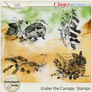 Under the Canopy Stamps