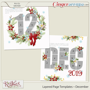 Layered Page Templates ~ December