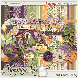 Monthly Mix: Thanks and Giving
