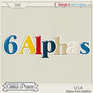U.S.A. - Alpha Pack AddOn