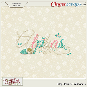 May Flowers Alphabets