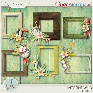 Into The Wild Clusters by Ilonka's Designs