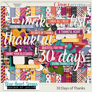 30 Days of Thanks Kit